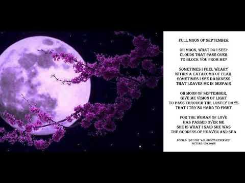 Romantic Love Poem - Full Moon of September