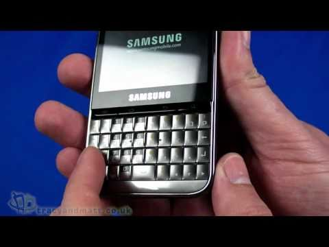 Samsung Galaxy Pro unboxing video