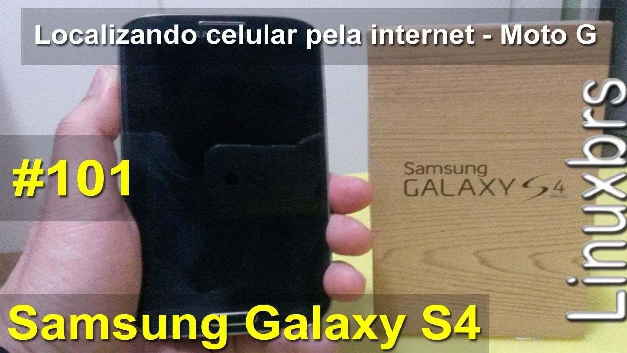 como localizar meu celular samsung galaxy s4