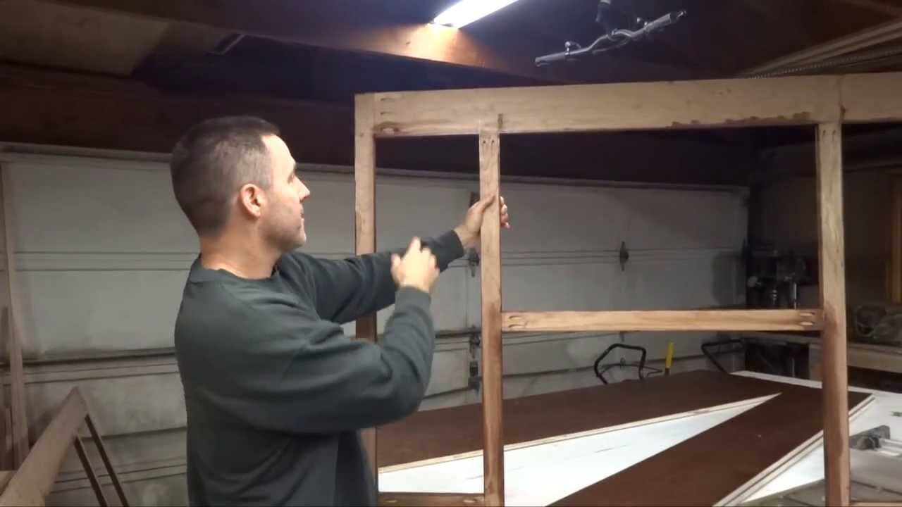 Home Built Kitchen Cabinets How To Build Your Own Kitchen Cabinets Part 1 Youtube