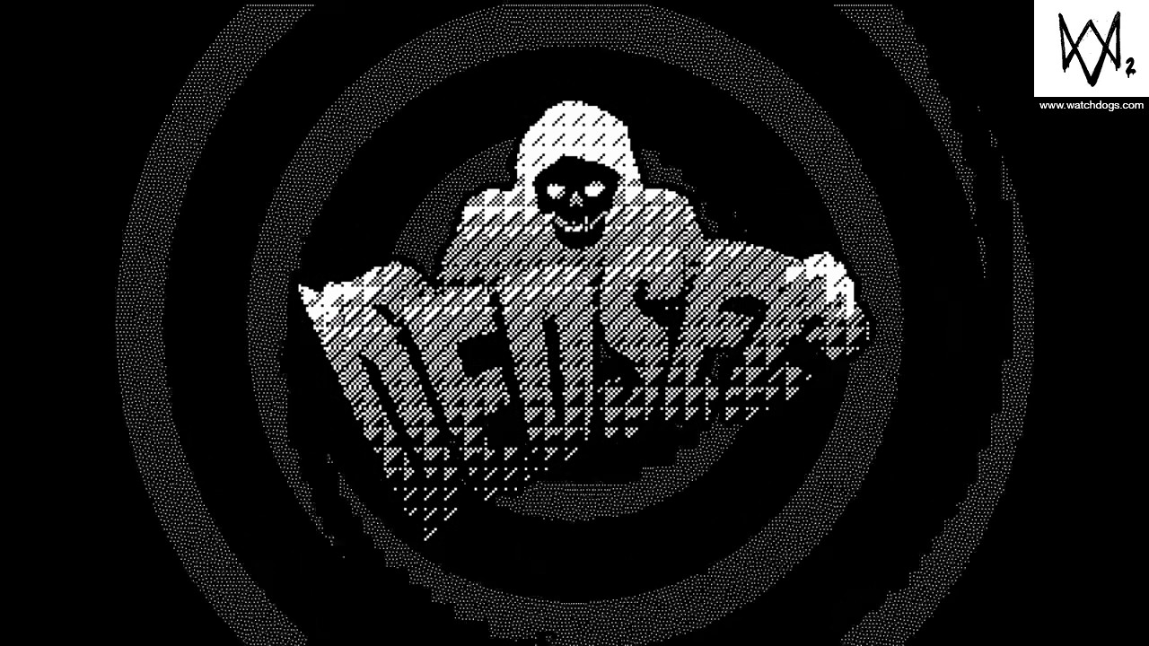 Watch Dogs Dedsec Wallpaper White And Black