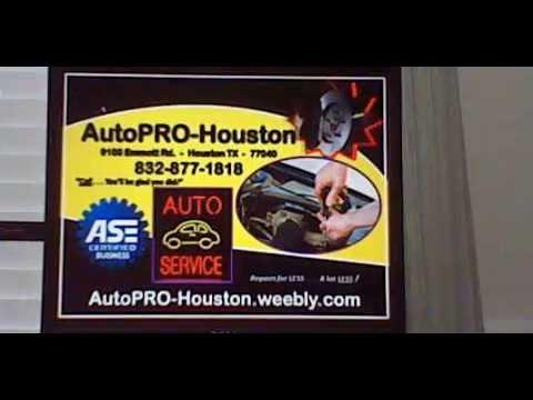 Automotive Repair Shop Houston Harris County Texas