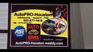 Automotive Repair Shop Houston Harris County Texas