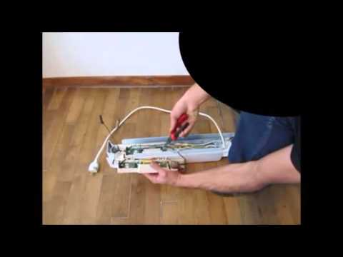 demontage radiateur ecotherm ecb youtube. Black Bedroom Furniture Sets. Home Design Ideas