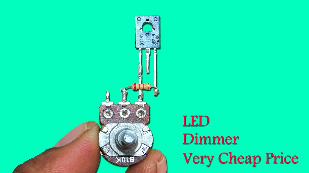 Cheapest (0-12v) LED Dimmer Circuit