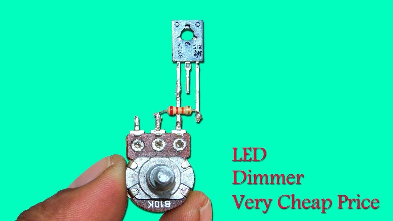 hight resolution of cheapest 0 12v led dimmer circuit