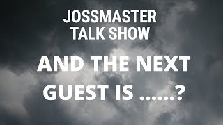 MY NEXT GUEST ON THE SHOW IS........???
