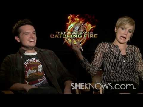 Jennifer Lawrence Bloopers - Celebrity Interview