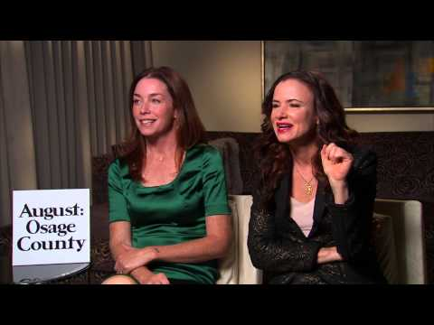 Juliette Lewis and Julianne Nicholson talk 'August: Osage County'