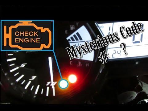 Got a Mysterious Engine Code # on Yamaha R3