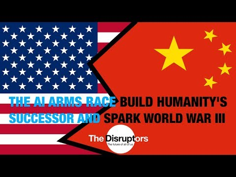 Dan Faggella – The AI Arms Race to Build Humanity's Successor or Spark World War III