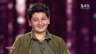 "Sasha Zazarashvili - ""All by myself"" - Blind Audition - Voice.Kids - season 5"