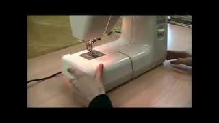 Как заправить нитки в швейную машину