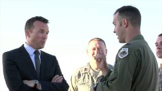 Acting Secretary of the Air Force Visits Davis-Monthan