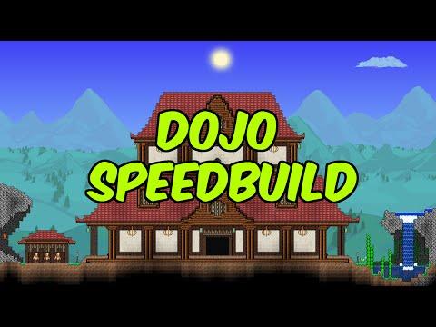 Terraria - Japanese DOJO Speed Build | Ampex