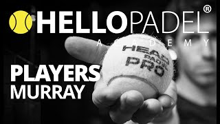Jamie Murray playing Padel. Short interview by HELLO PADEL