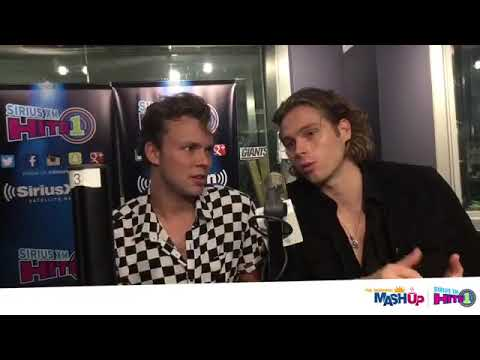 5SOS celebrating the release of their new album Youngblood at SiriusXM