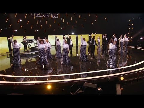 America's Got Talent 2015 S10E09 Judge Cuts - Selected of God Choir Will They Survive
