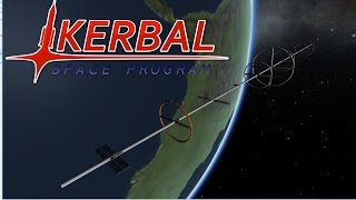 1km Long Space Station - Kerbal Space Program