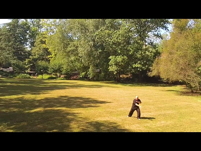 BaGua Practice on a Fall Day
