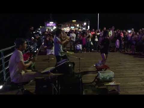 Santa Monica Pier Got Talent ft. @oliverbohlermusic @kievmoralesviolin