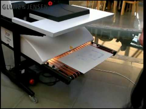 PlateWriter 2000 - Affordable CTP - plate making for the small commercial  printer