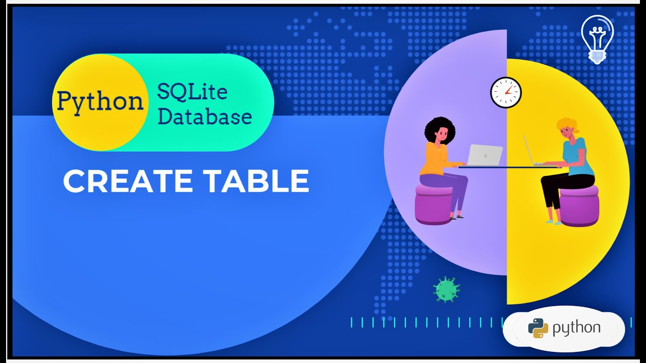 How to Create Table in SQLite Database Python | Python Built-In Database - III