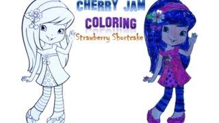Cherry Jam - Coloring (Strawberry Shortcake Series)