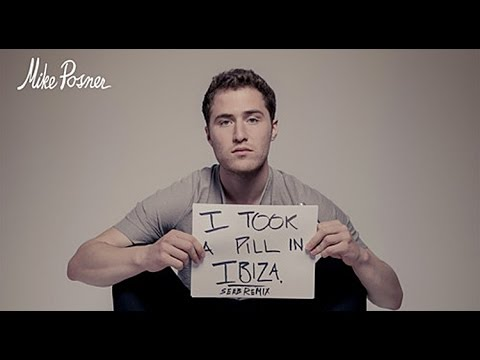 Mike Posner I took a pill in Ibiza Lyrics