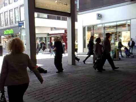 Some guy in Manchester dancing rather amazingly