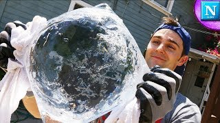 Fire From Ice: GIANT ICE LENS