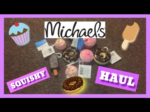 SQUISHY HAUL FROM MICHAEL S - YouTube