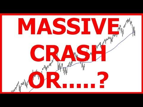 Is This The Start Of A MASSIVE Stock Market Crash Or BIG Bubble Coming | SP500 - Dow Jones - Nasdaq