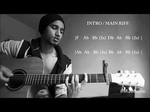 Wait - Maroon 5 || Complete Guitar Tutorial - MJ ||