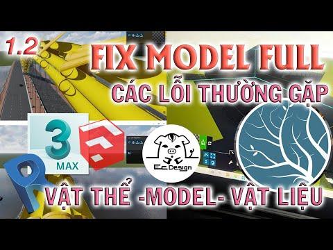 ✅ Fix full model Sketchup, 3dSmax, Revit to Lumion  Ec Design