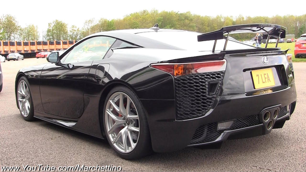 Lexus LFA Full Throttle Acceleration   F1 Sound!   YouTube