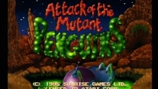Attack of the Mutant Penguins (Atari Jaguar) AVGN episode segment