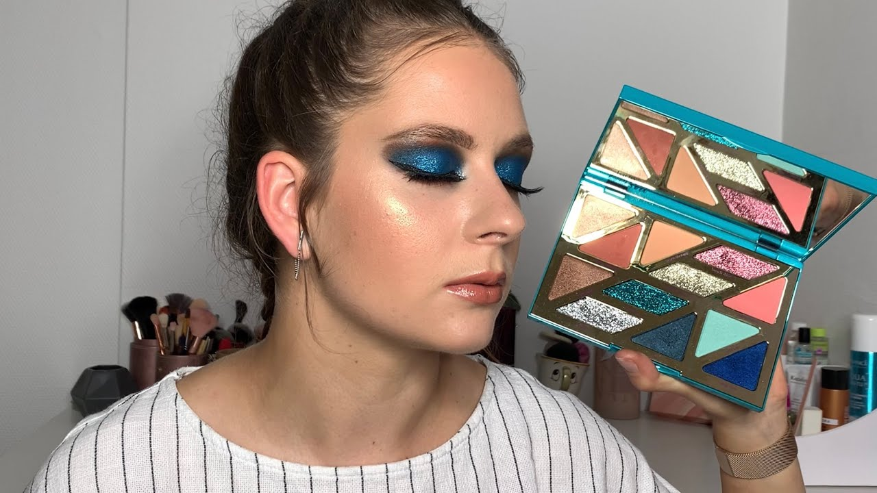 @: TUTO | BLUE MAKEUP High Tides & Good Vibes TARTE