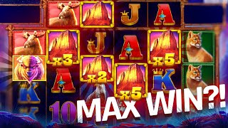 INSANE MAX WIN ON BUFFALO KING MEGAWAYS