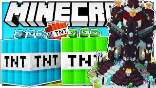 2V2 TNT WARS REMASTERED - THE BEST TNT WARS GAMEMODE EVER - Modded Minecraft Minigame