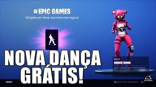 FORTNITE-HOW TO GET THE NEW BOOGIE DOWN FREE DANCE