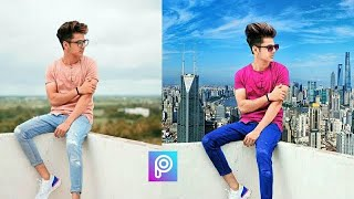 Photo editing is picsart || background change in picsart || photo Editing in Android mobile