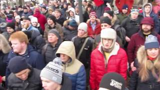 Выдвижение Навального во Владивостоке 24.12.2017г