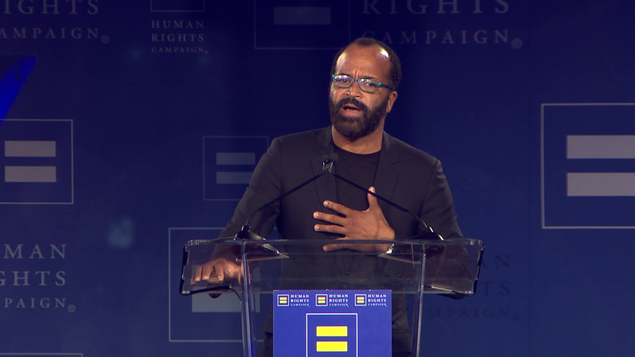 Jeffrey Wright Receives the HRC Ally For Equality Award