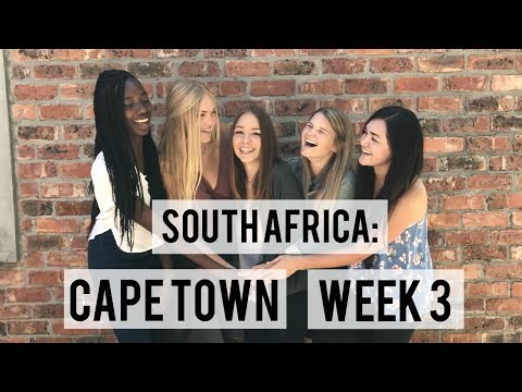 SOUTH AFRICA: CAPE TOWN WEEK 3 VLOG | V&A WATERFRONT, ROBBEN ISLAND, BAXTER THEATRE