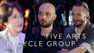 Five arts: Recycle Group (2021): Параджанов, Джеймс Таррелл, скейтборд/ Oh My Art