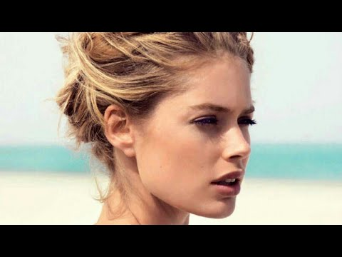 Doutzen Kroes as a fashion model