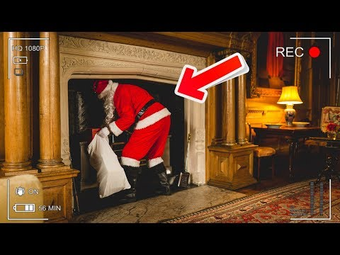 5 TIMES SANTA CLAUS WAS CAUGHT ON CAMERA - SANTA SPOTTED IN REAL LIFE!