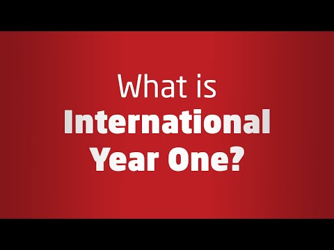 What is International Year One?