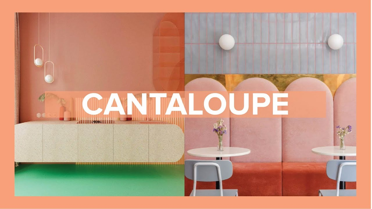 Cantaloupe Color Trend How To Decorate With This Trend Color A ripe fruit will be soft, but not too soft (as this is a sign of it. cantaloupe color trend how to